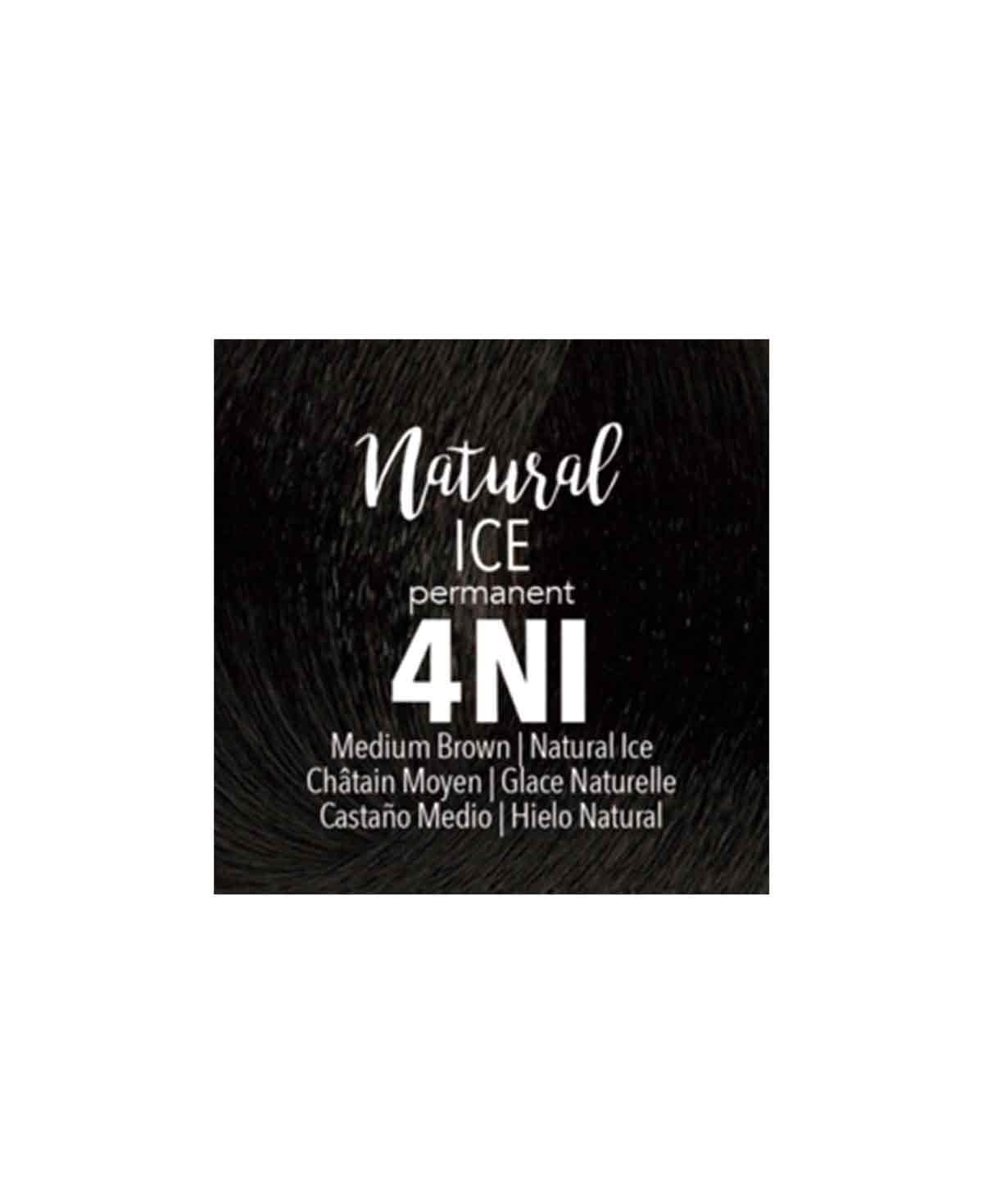 Mydentity - 4NI Medium Brown Natural Ice