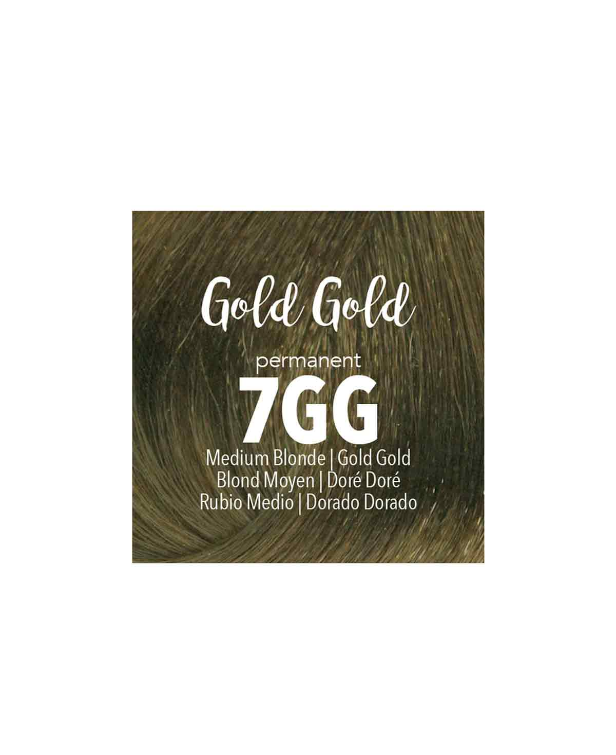 Mydentity - 7GG Medium Blonde Gold Gold