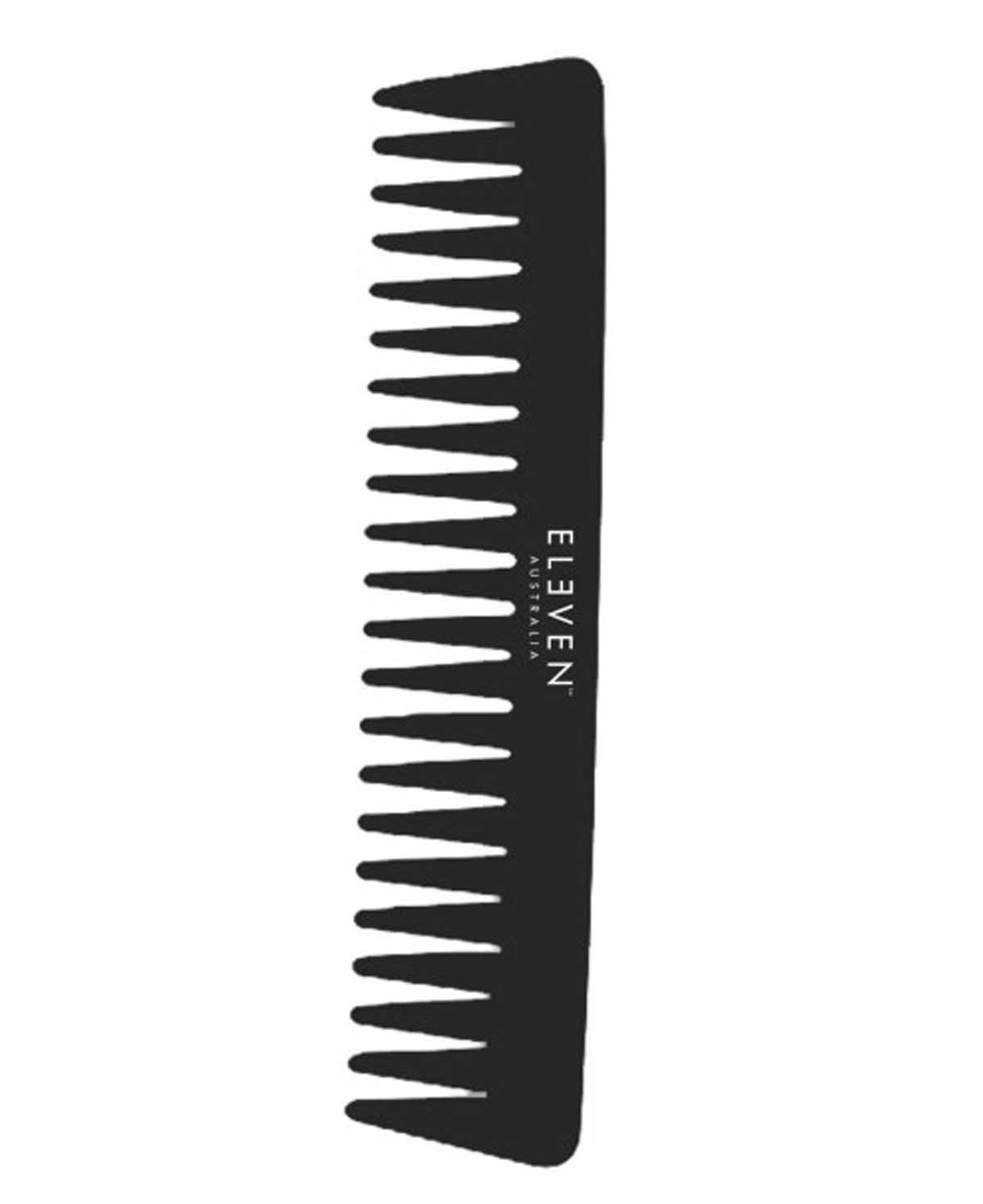 Eleven Black Wide Tooth Comb