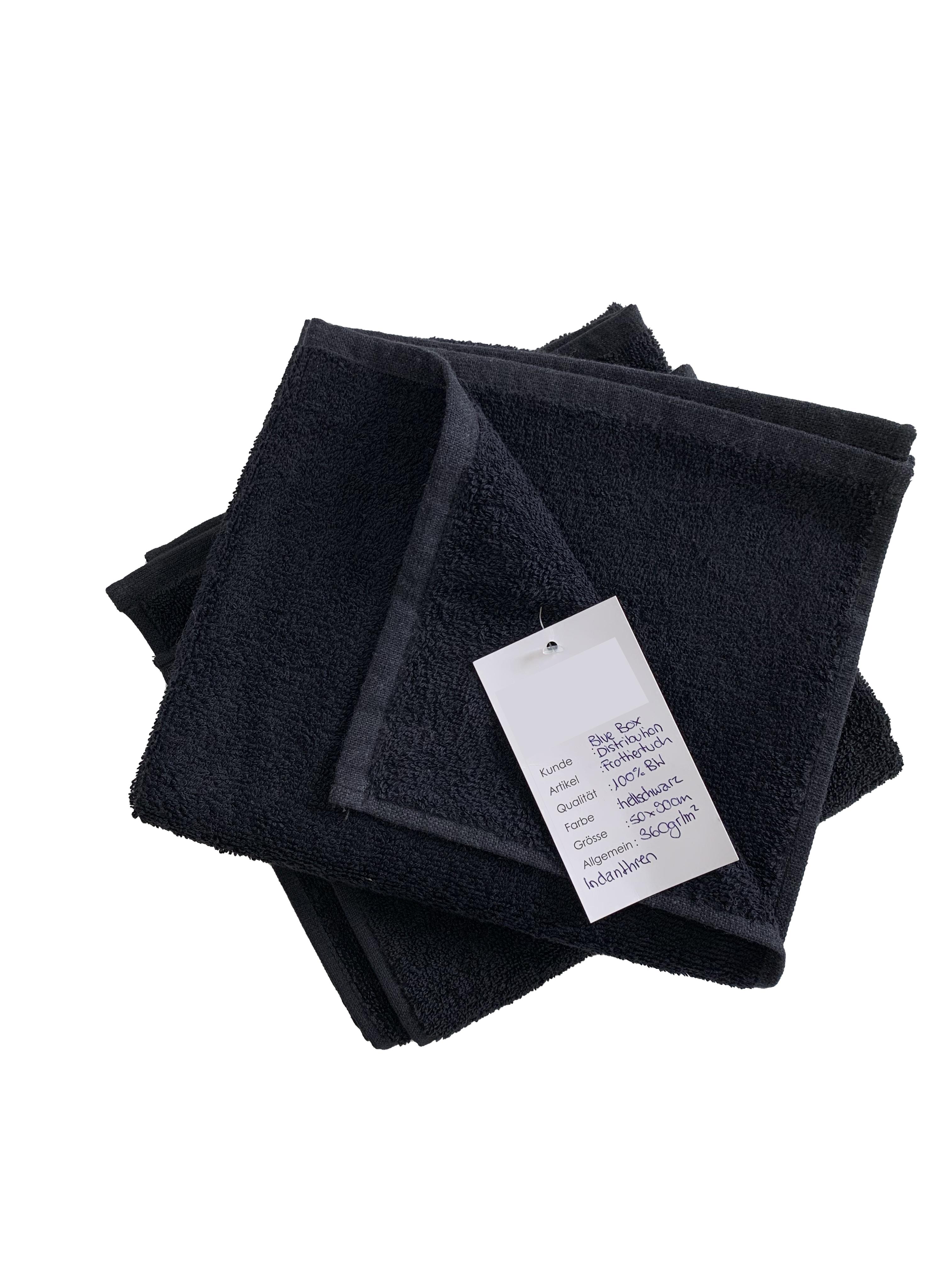 BLUE BOX Cotton Towel 50x90cm (3-er Set)
