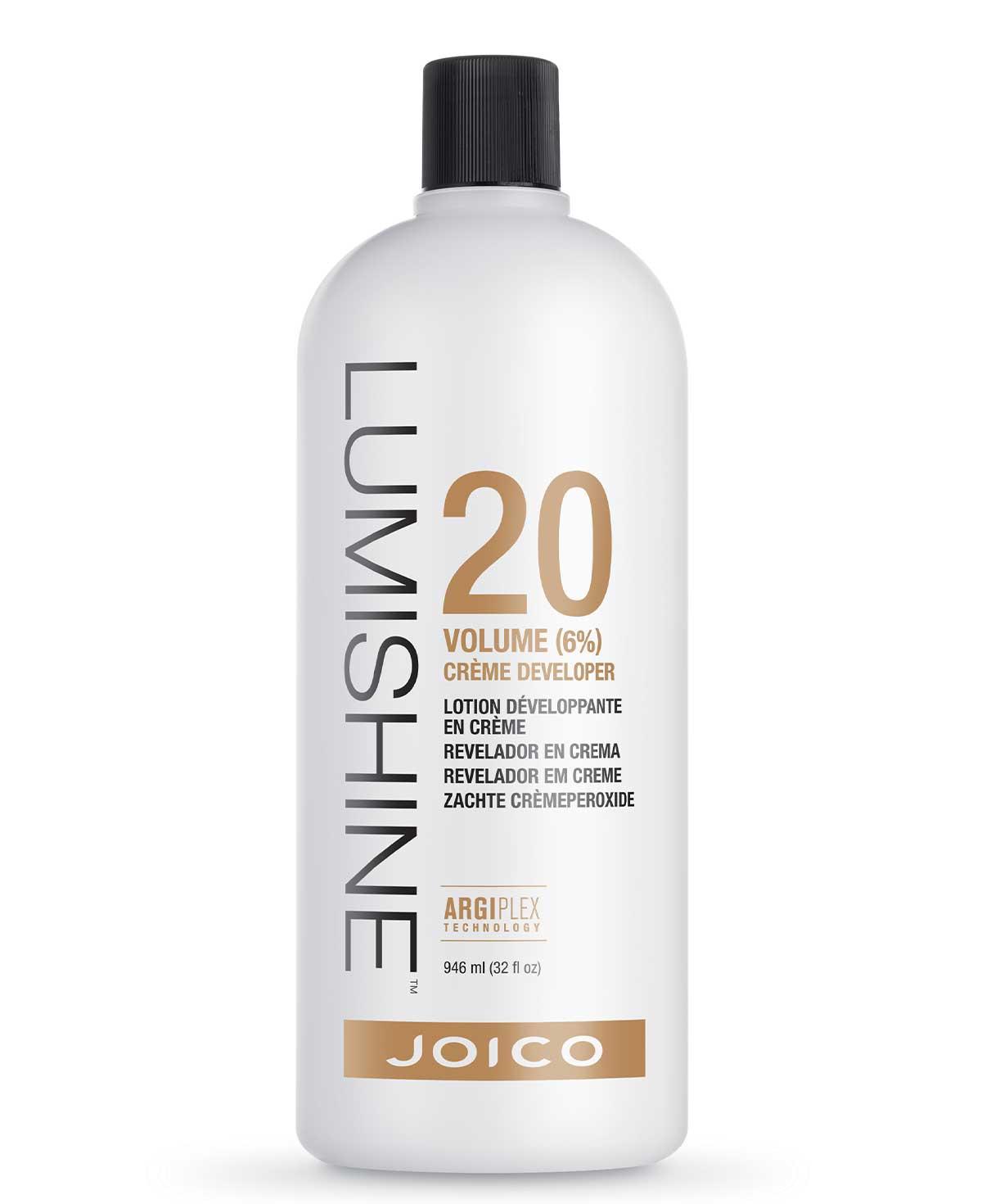 Joico Lumishine 20 Volume (6%) Creme Developer 950ml