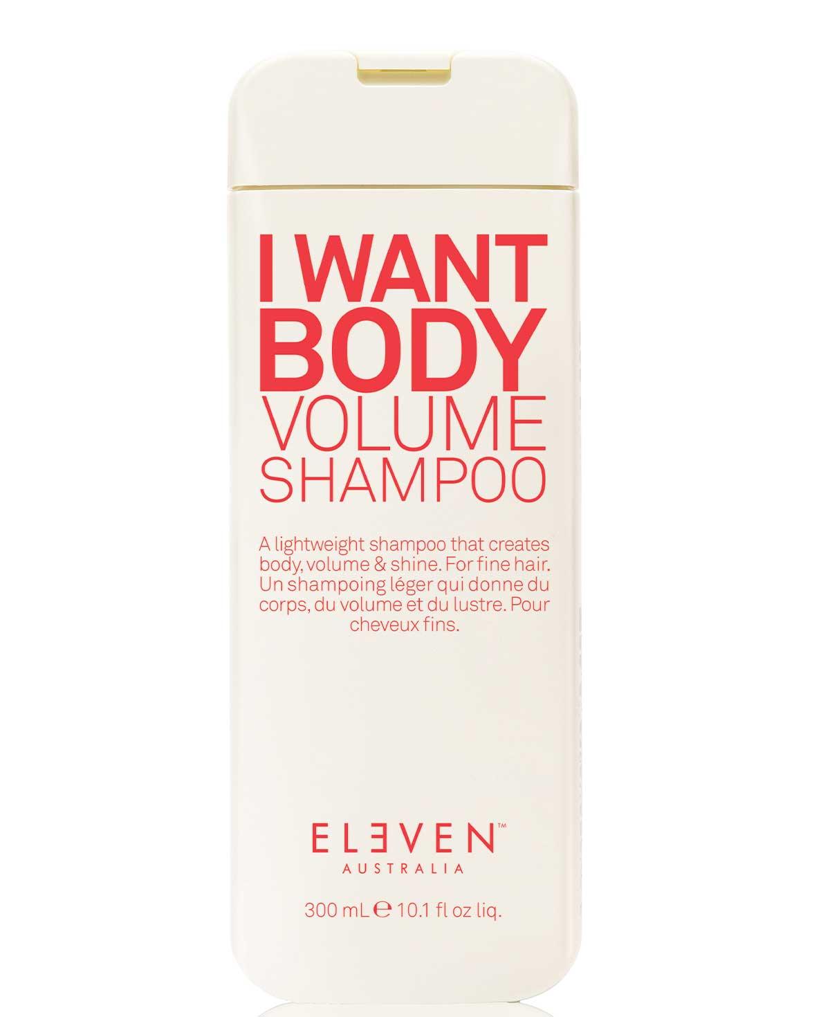 Eleven I Want Body Volume Shampoo 300ml