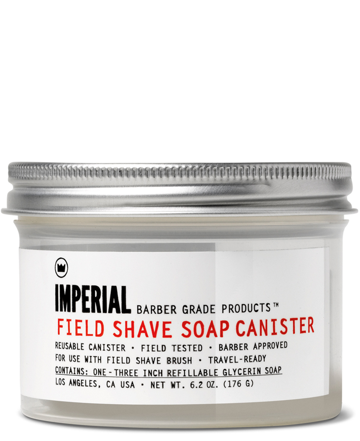 Imperial Field Shave Soap Canister (Leer)