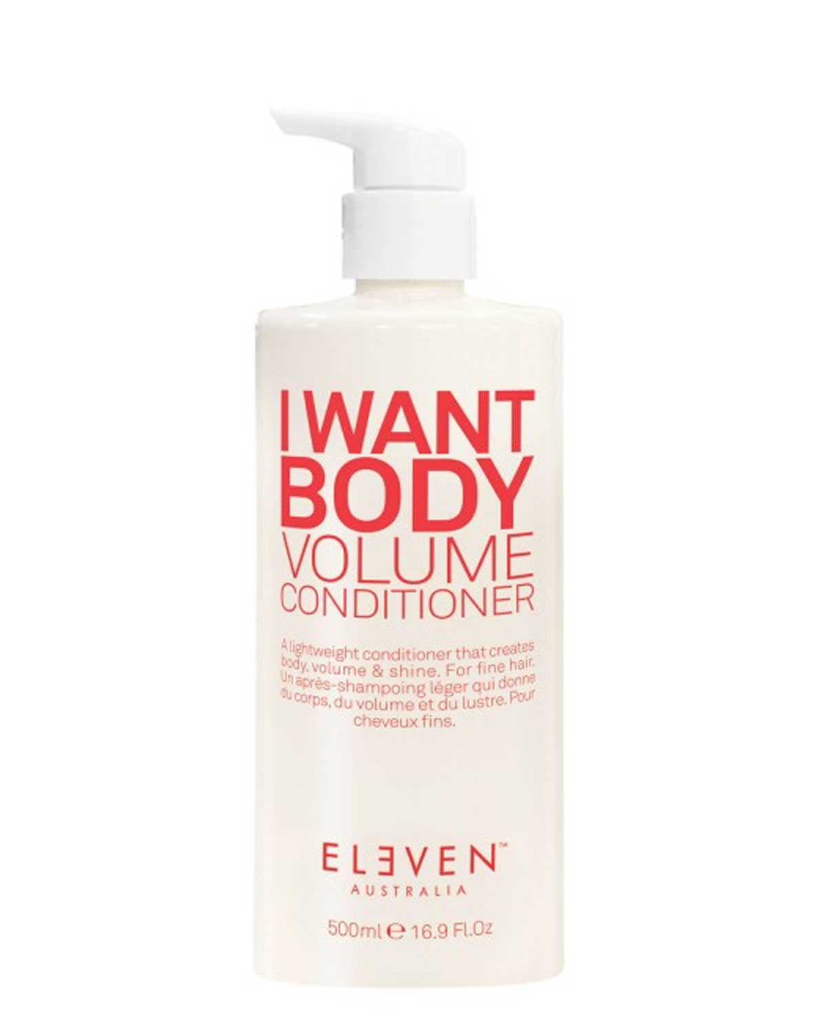 Eleven I Want Body Volume Conditioner 500ml Limited Edition