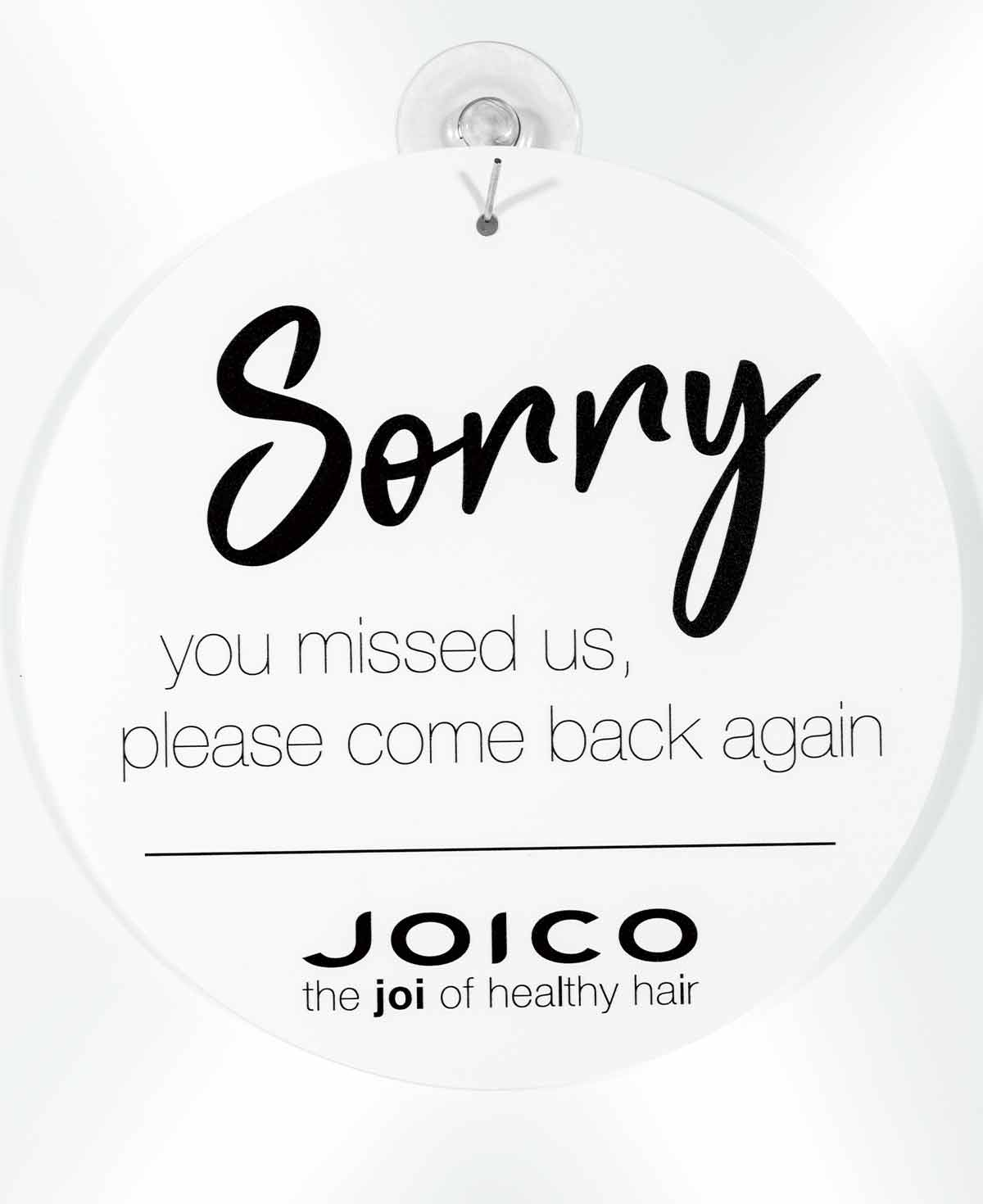 Joico Open/Closed doorsign