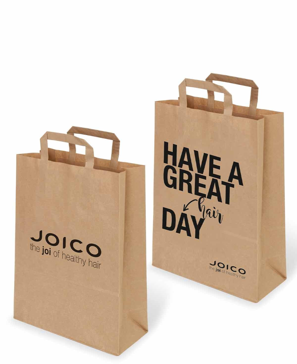 Joico Basic Paper Bag - Brown