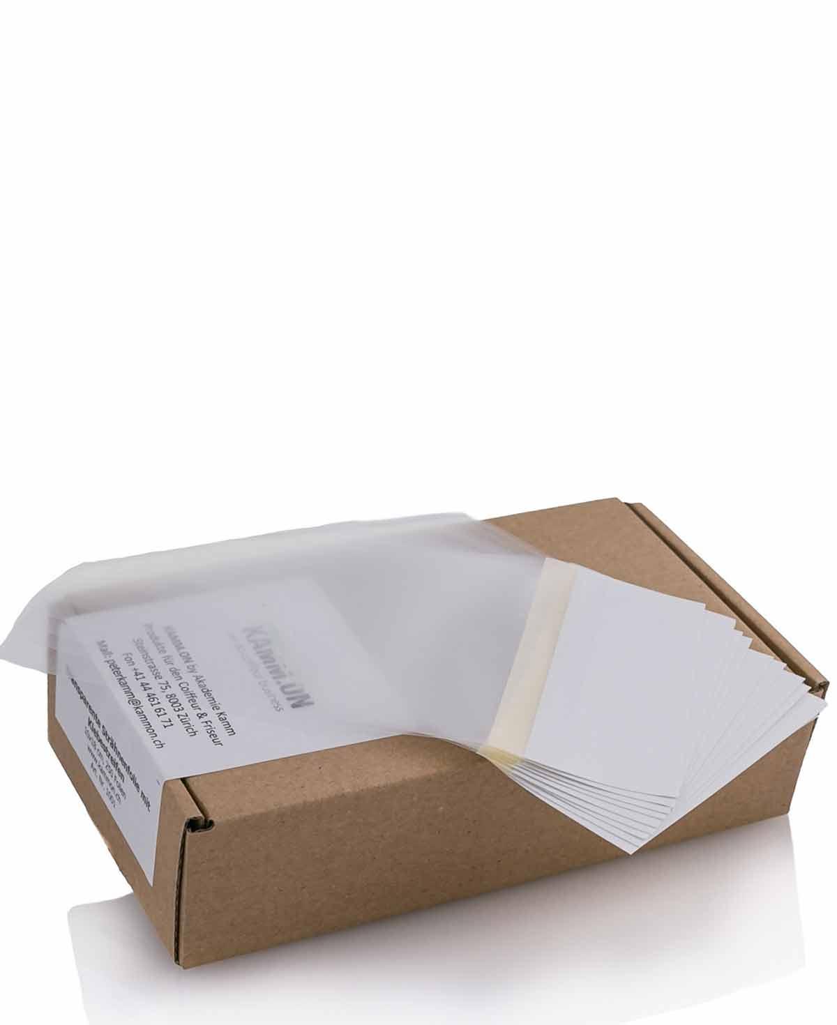 Strähnenpapier 9x18cm à 500 Blatt
