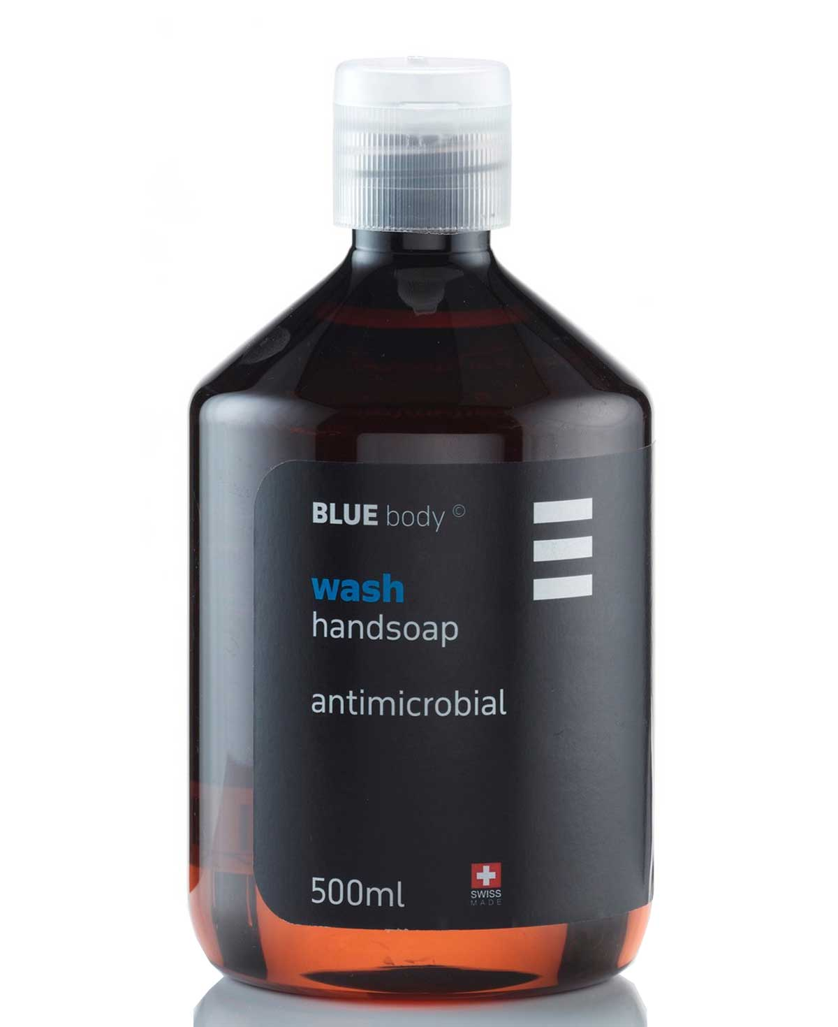 BLUE body wash handsoap antimicrobial 500ml
